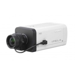 Sony SNC-CH140 Network 720p HD / 1.3 Megapixel Fixed Camera with View-DR Technology, JPEG/MPEG-4/H.264 Dual Streaming, Day/Night and PoE