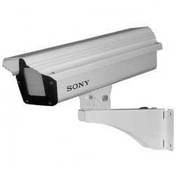 Sony SNC-UNI Housing with Wall Mount Bracket for Fixed type (Box) Camera, No Electronics, 10,5-inch Maximum Camera/Lens Length