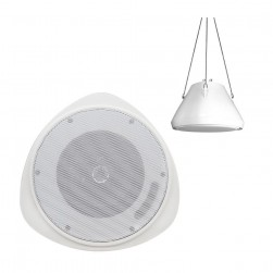"Speco SP30PT 30 Watt RMS 5.25"" Pendant Speaker with Hanging Chain"