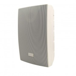 """Speco SP6AWXW 6.5"""" All-Weather Extreme Indoor/Outdoor Wall Mount Speakers, White Housing"""