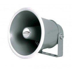 "Speco SPC10 6"" Weather-Resistant Aluminum Speaker Horn - 8 Ohms"