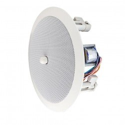 """Speco SPG86TC 8"""" Modern Grille In-Ceiling with Volume Control Knob"""