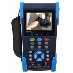 """SecurityTronix ST-HDoC-MM 3.5"""" Test Monitor Meter For Analog, TVI, CVI, AHD, SDI & Analog With integrated Multi-Meter"""