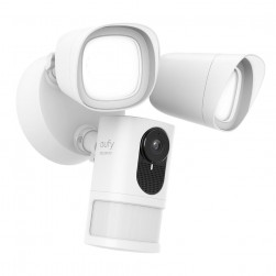 Eufy T84201W1 2 Megapixel Outdoor Network IP Security Flood Camera with Adjustable Dual Lightning