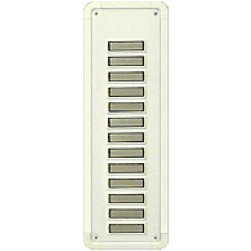 Alpha TBM13W 13 Buttons Only Panel-White-Flush