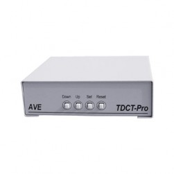 AVE TDCT-PRO Time-Date Camera Titler & Power Supply
