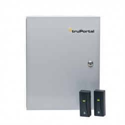 Interlogix TP-ADD-2D2R-M TruPortal Access Control 2-Door Base System