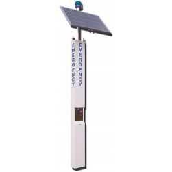 Alpha TSL85 9' Tower-Landline-85W Solar