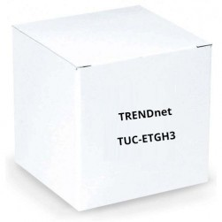 TRENDnet TUC-ETGH3 USB-C to Gigabit Ethernet Adapter, USB Hub