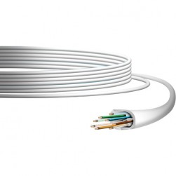 Ubiquiti UC-C6-CMR UniFi Category 6 Indoor Ethernet Cable, 1,000', White