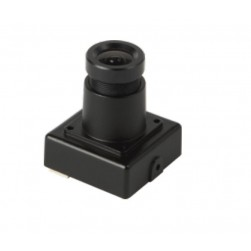 InVid ULT-ALLMIB36 1080p HD-TVI/CVI/AHD/Analog Miniature Square Camera, 3.6mm
