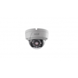 InVid ULT-C2DRIR28 2 Megapixel TVI Outdoor IR Vandal Dome Camera, 2.8mm, White Housing