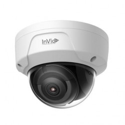 InVid Tech ULT-P8DRIR6 8 MP IP Outdoor Rugged Dome Camera 6mm Lens