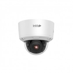 InVid ULT-P8DRIRM2812 8 Megapixel 4K IP IR Plug & Play Outdoor Dome Camera, 2.8-12mm Lens