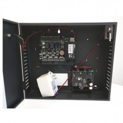 ZKAccess US-C3-200-PRO-BUN Panel In Metal Cabinet with Power Supply