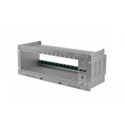 Pelco USRACK Fiber Rack Mounts Chasis for Fiber Optic Modules with Internal Power Supply