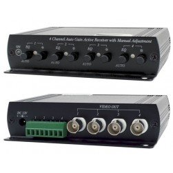 Speco UTP4AR 4 Channel Active Transceiver