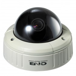 CNB V1810NVD 1/3-inch Day/Night Vandal-Resistant Dome Camera, 550TVL