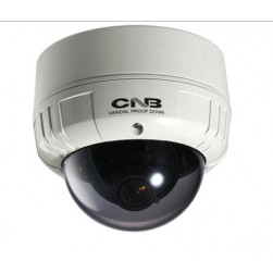 CNB VCB-34VF BLUE-i Indoor Dome (100mm) - 580TVL WDR True Day & Night (ICR), 0.0002LUX (DSS On, B/W) WDR, DSS, 3D-DNR, OSD