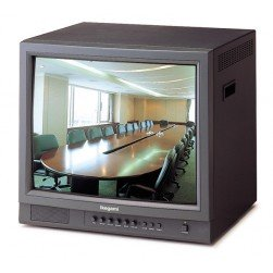 Ikegami VCM-2101 21-inch Color Monitor with Metal Cabinet - 450TVL - A/B Inputs - Audio NTSC & PAL - Auto-sensing AC90V-260V