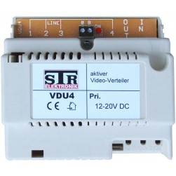 Alpha VDU-4 STR Video Distributor - 4 Output