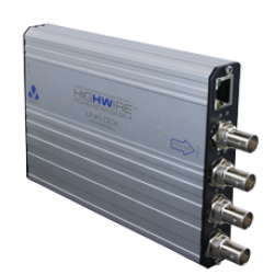 Veracity VHW-HWPS-B4 HIGHWIRE 4-Port Ethernet over Coax Base Unit