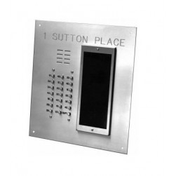 Alpha VI402-249D 249 Buttons VIP Panel Flush with Directory