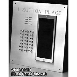 Alpha VI402-261D 261 Buttons VIP Panel Flush with Directory