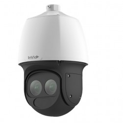 InVid Tech VIS-P2PTZLASERT33 2 Megapixel IP Outdoor PTZ Camera White