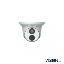 InVid VIS-P5TXIR28 5 Megapixel IP Plug & Play Outdoor IR Dome Camera, 2.8mm Lens