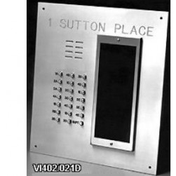 Alpha VI402-246D 246 Buttons VIP Panel Flush with Directory
