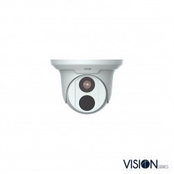 InVid VIS-P4TXIR28 4 Megapixel IP Plug & Play Outdoor Turret Camera, 2.8mm, White Housing