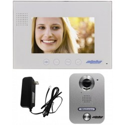 "Alpha VK237WS 1-Unit 7"" Color Video Entry Intercom Kit"