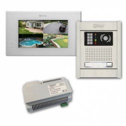 Alpha VKGB2-P7-1AF 1 Unit Video-Intercom Kits with Flush Entry Panel