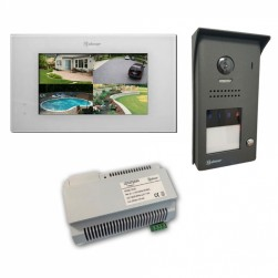 Alpha VKGB2-P7-1ES 1 Unit Touchscreen Video Entry Intercom Kit