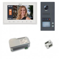 Alpha VKGB2-V7-2ES GB2 Jazz Series Color Video Entry Intercom Kit