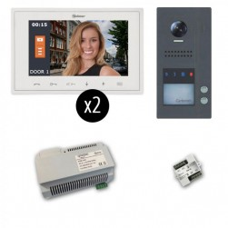 Alpha VKGB2-V7-2FS GB2 Jazz Series Color Video Entry Intercom Kit