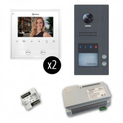 Alpha VKGB2-2FS GB2 Jazz Series 2-Unit Color Video Entry Intercom Kit