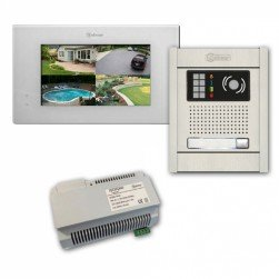 Alpha VKGB2-P7-1AS 1 Unit Video Intercom Kits with Surface Entry Panel