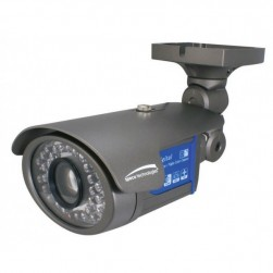 Speco VL7038IRVF 600TVL Outdoor Day/Night IR Bullet Camera, 2.8-12mm Lens