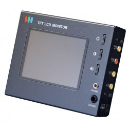 Speco VMS2 Portable Color LCD Test Monitor w/ Accessories
