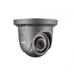 Vitek VTC-THT24R2FB 1080p HD-AHD, HD-TVI, HD-CVI, Analog Outdoor Dome Camera, 3.6mm Lens, Charcoal