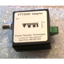 AVE VTT2000 120002 Mil-Spec UTP Video Transceiver with 2000' Range In Color