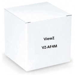 "ViewZ VZ-AF4M 1/3"" Fixed Focal Lens with Manual-Iris 4 mm"