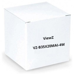 "ViewZ VZ-B35X20MAI-4W 1/2"" Motorized Zoom Lens w/Video Auto-Iris"