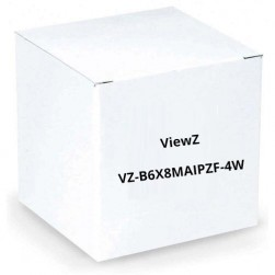 ViewZ VZ-B6X8MAIPZF-4W Motorized Zoom with Video Auto-Iris 8-48mm Lens