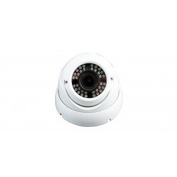 ViewZ VZ-VDC-1 2.1MP AHD Outdoor Dome Camera W/2.8-12MM Varifocal Lens