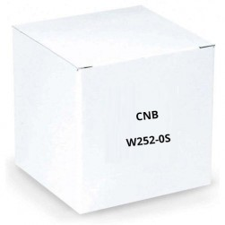 CNB W252-0S 600 TVL Analog IR Bullet Camera, 6mm Lens