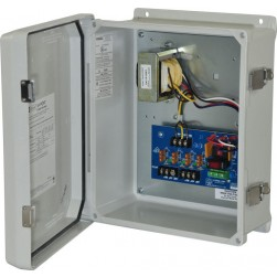 Altronix WAYPOINT10AU 2 Fused Outputs CCTV Power Supply, Outdoor, 24/28VAC @ 4A, WP3 Enclosure