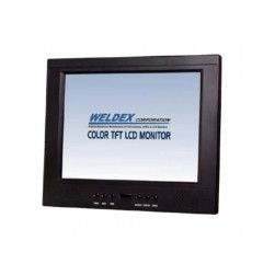 "Weldex WDL-1040M-HD Color 10.4"" TFT LCD Monitor W/BNC Looping Output"